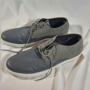 Ben Sherman Sneaker Gray Tweed Mens Size 12